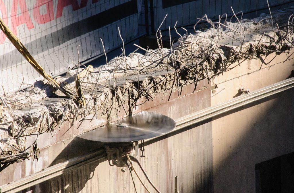 Jak ciąć beton zbrojony?