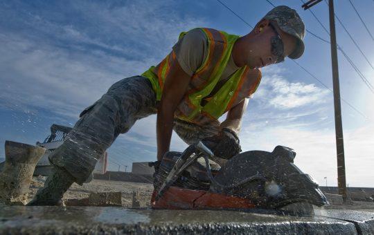 Cięcie betonu zbrojonego